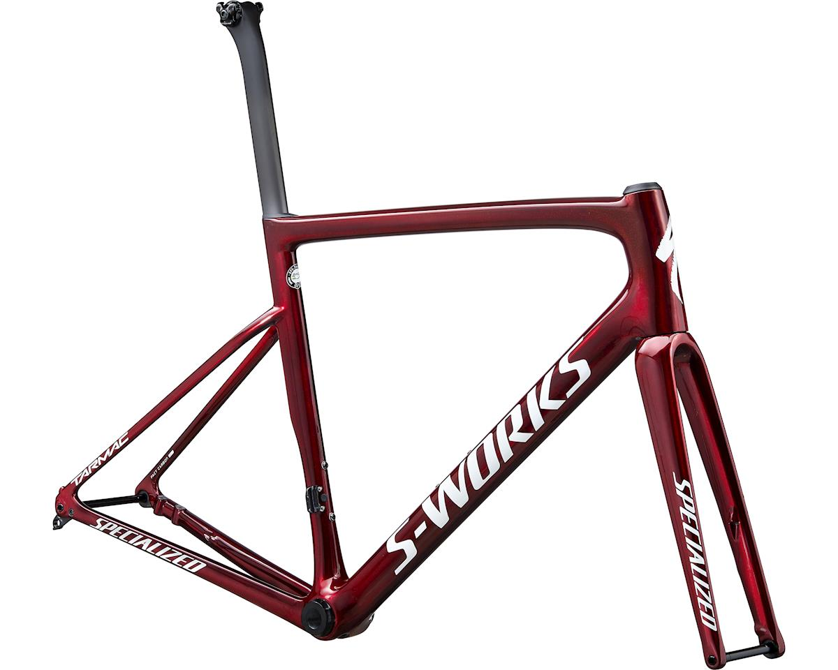Specialized 2020 S-Works Tarmac Disc Frameset (Gloss Spectraflair/Red Tint/Metallic White Silver)