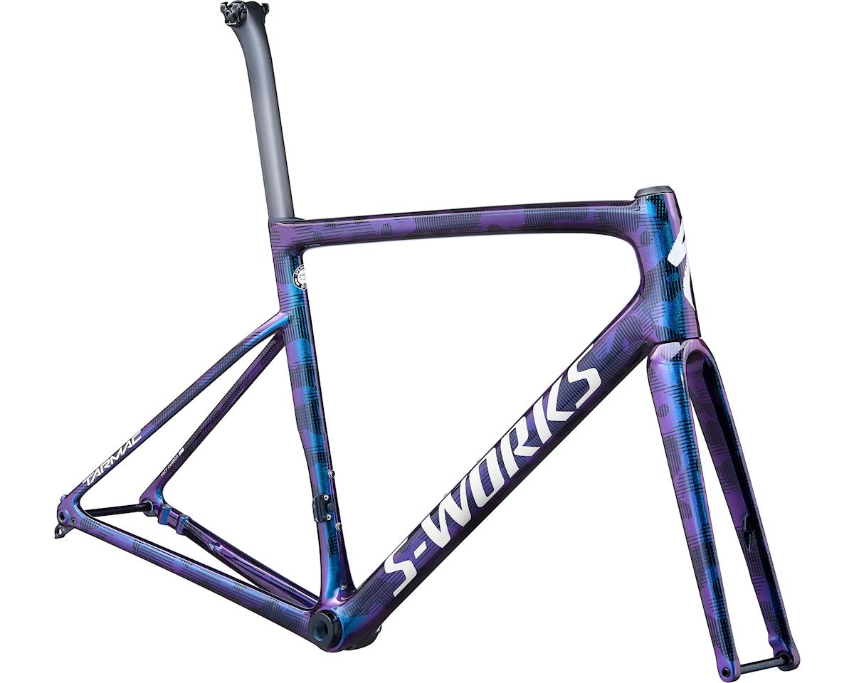 Specialized 2020 S-Works Tarmac Disc Frameset (Gloss Supernova Chameleon/Dove Grey/Tarmac Black/Camo) (52)
