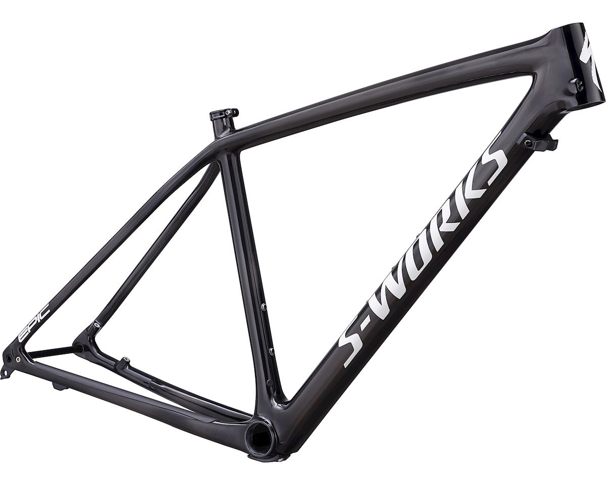 Specialized 2019 S-Works Epic Hardtail Frameset (Gloss Carbon/White)