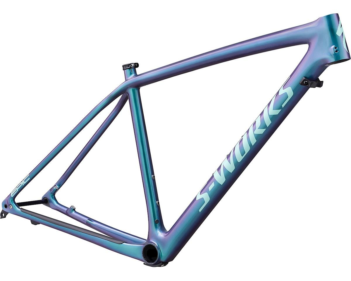 Specialized 2019 S-Works Epic Hardtail Frameset (Gloss Oil Slick/Mint)