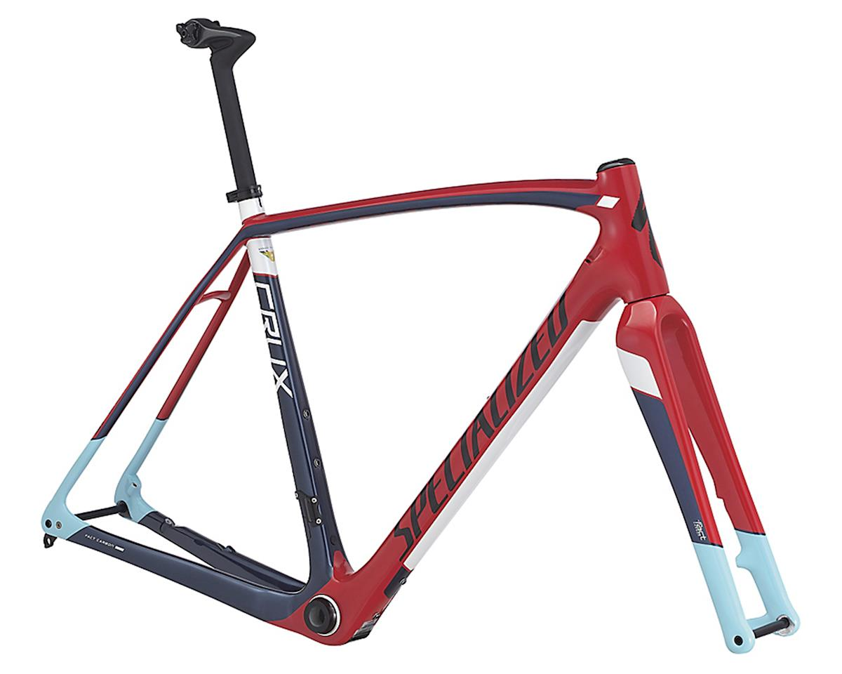 Specialized 2017 Crux Pro Frameset (Flo Red/Navy/Light Blue)