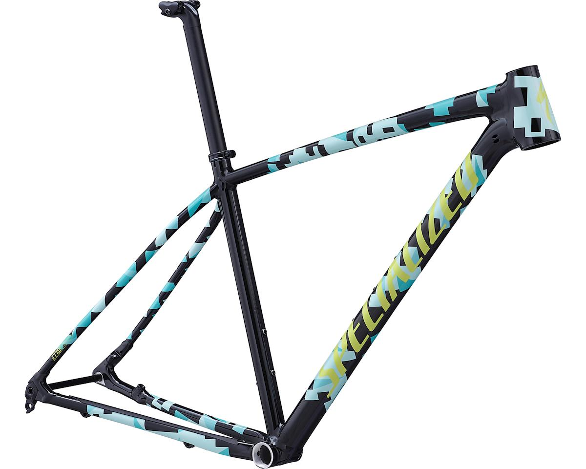 Specialized 2019 Chisel Frame (Gloss Tarmac Black/Mint/Team Yellow)