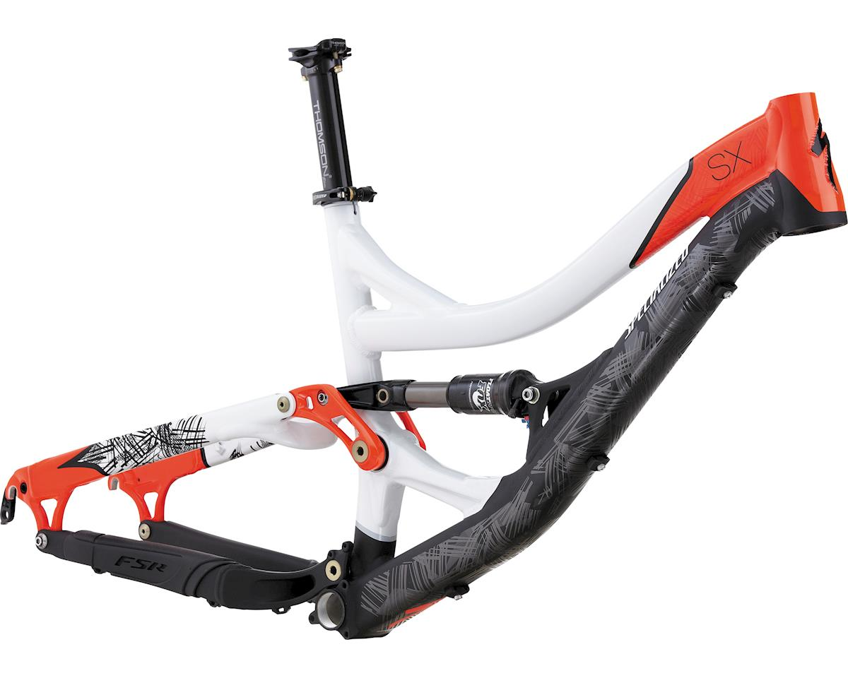Specialized SX Frame (BLK/WHT/NEON RED) (S)