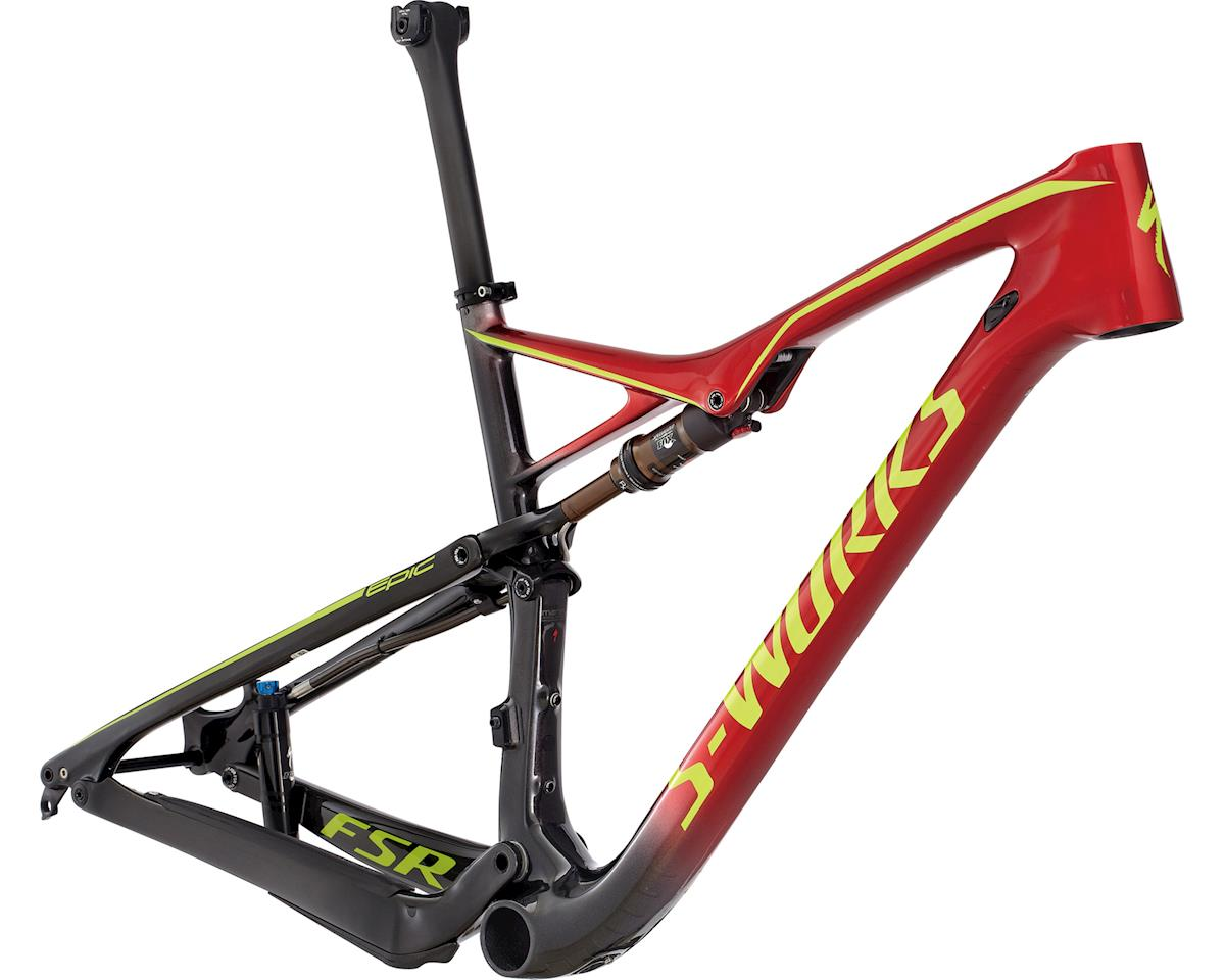 Specialized 2017 S-Works Epic FSR Frame (GLOSS CARBON/CANDY RED FADE/HYPER)
