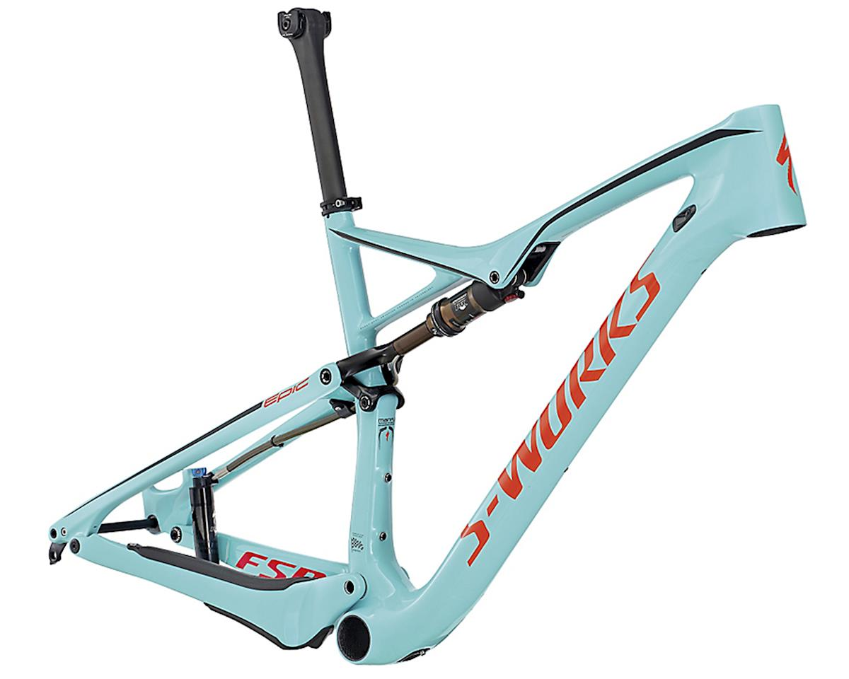 Specialized 2017 S-Works Epic FSR World Cup Frame (Gloss Teal/Rocket Red/Black)