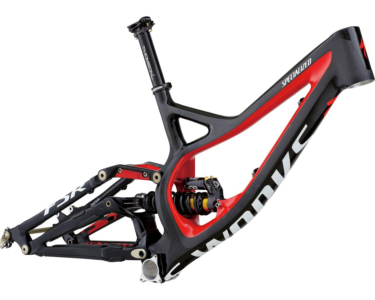 Specialized 2013 S-Works Demo 8 Carbon Frame (Gloss/Satin Black/Carbon/Red)