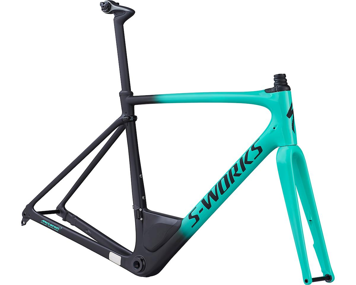 Specialized 2019 S-Works Roubaix Frameset (Gloss Acid Mint/Satin Black Fade/Clean)