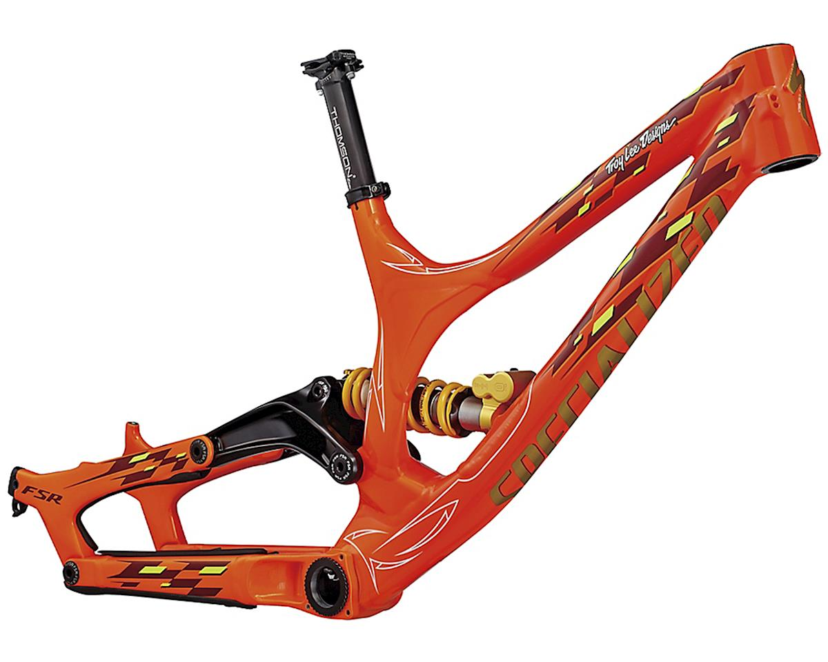 Specialized 2017 Demo 8 FSR LTD 650b Frame (TLD Orange)