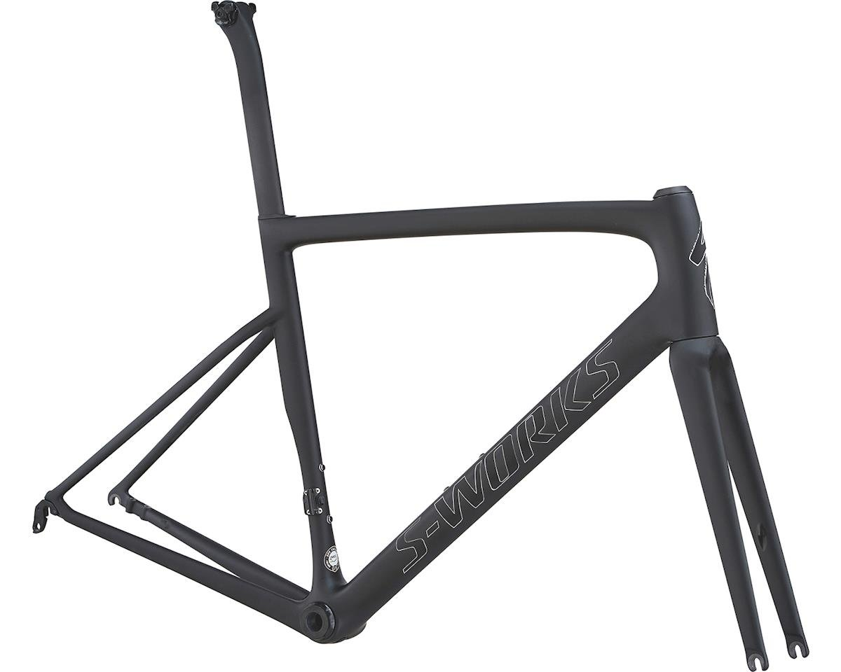 Specialized 2018 S-Works Tarmac Disc Frameset (Satin Black/Silver Holo/Clean)