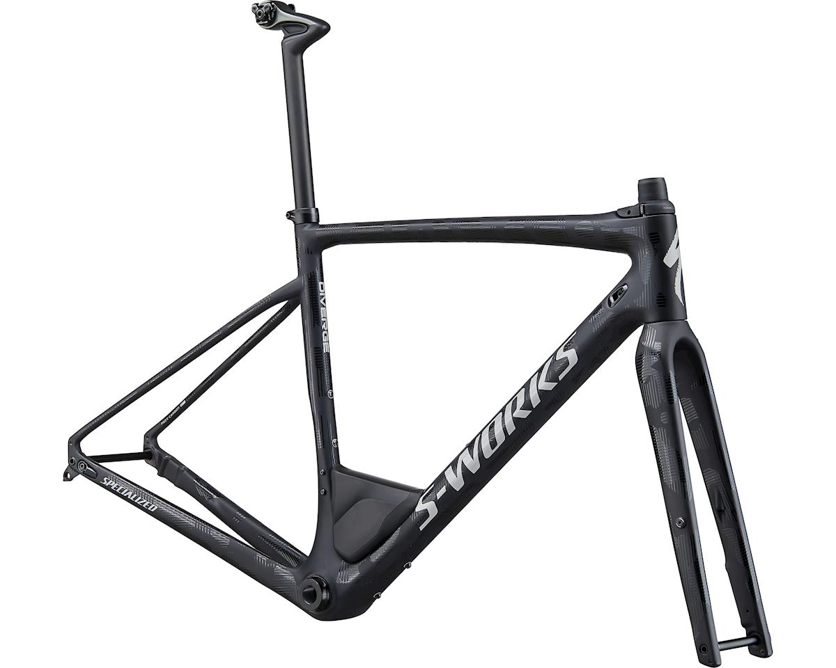 Specialized 2020 S-Works Diverge Frameset (Satin/Gloss Black/Dove Grey Camo)