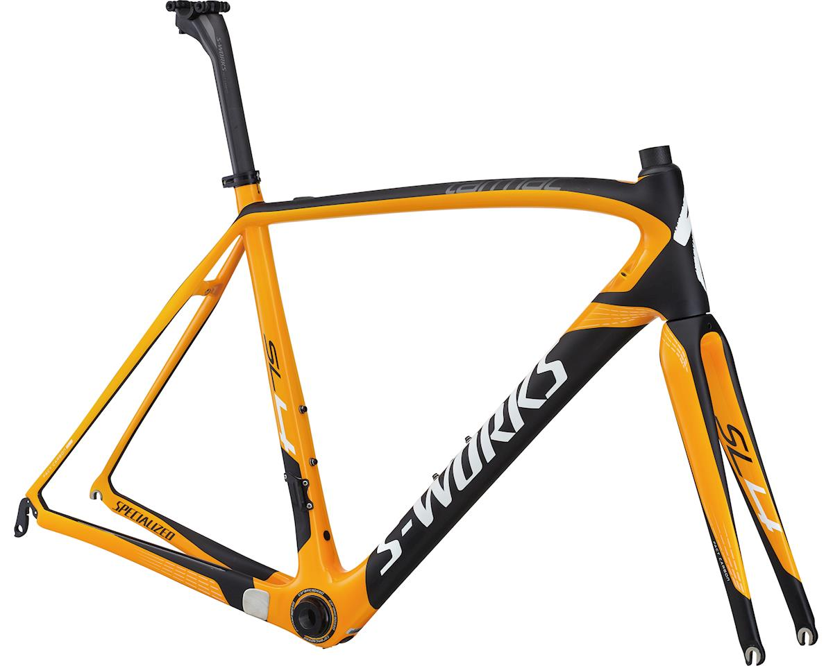 Specialized 2014 S-Works Tarmac SL4 Frameset (Gloss/Satin/Orange/Carbon/White) (61)
