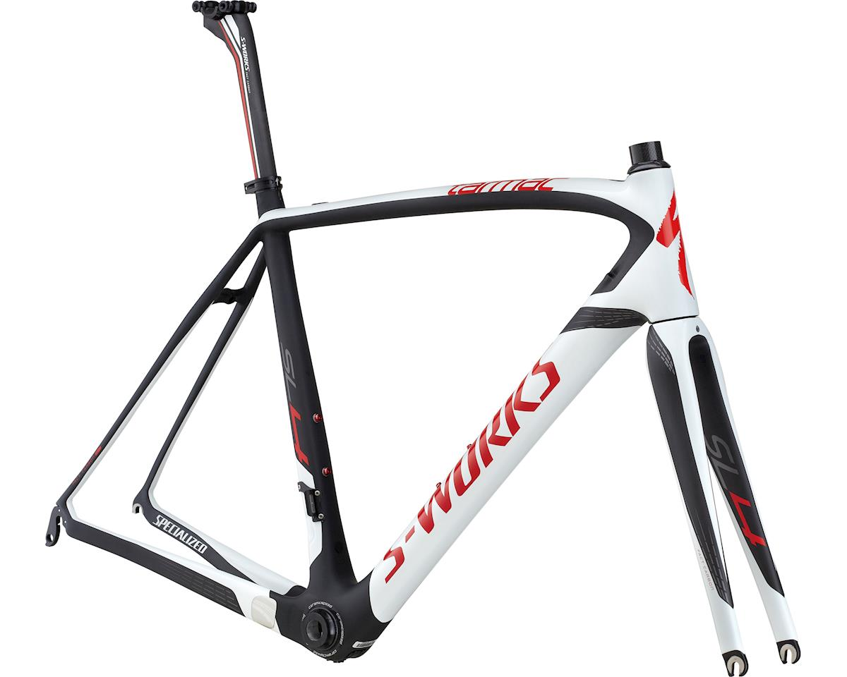 Specialized 2014 S-Works Tarmac SL4 Frameset (Satin/Gloss/White/Carbon/Red) (61)