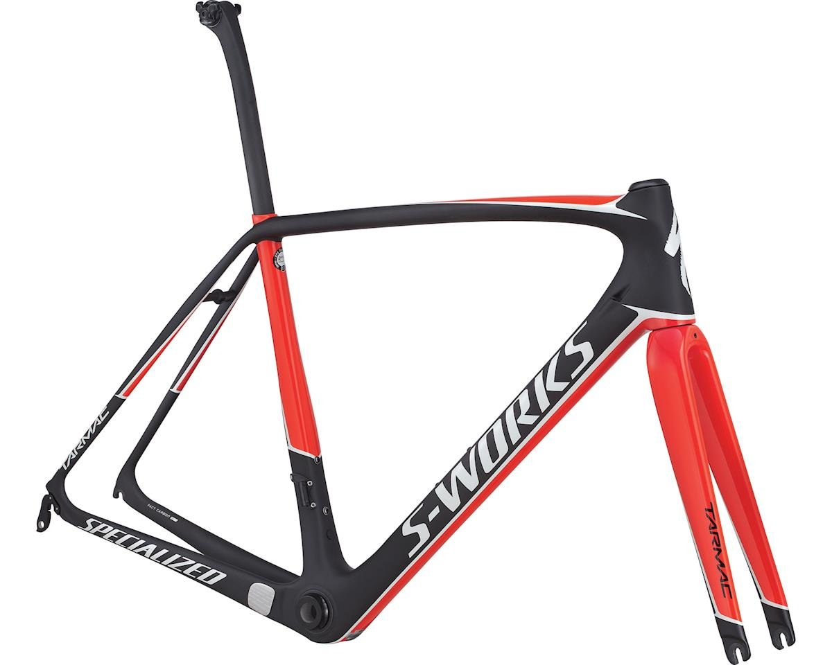 Specialized 2017 S-Works Tarmac Frameset (CARBON/GLOSS ROCKET RED/METALLIC WHITE) (61)