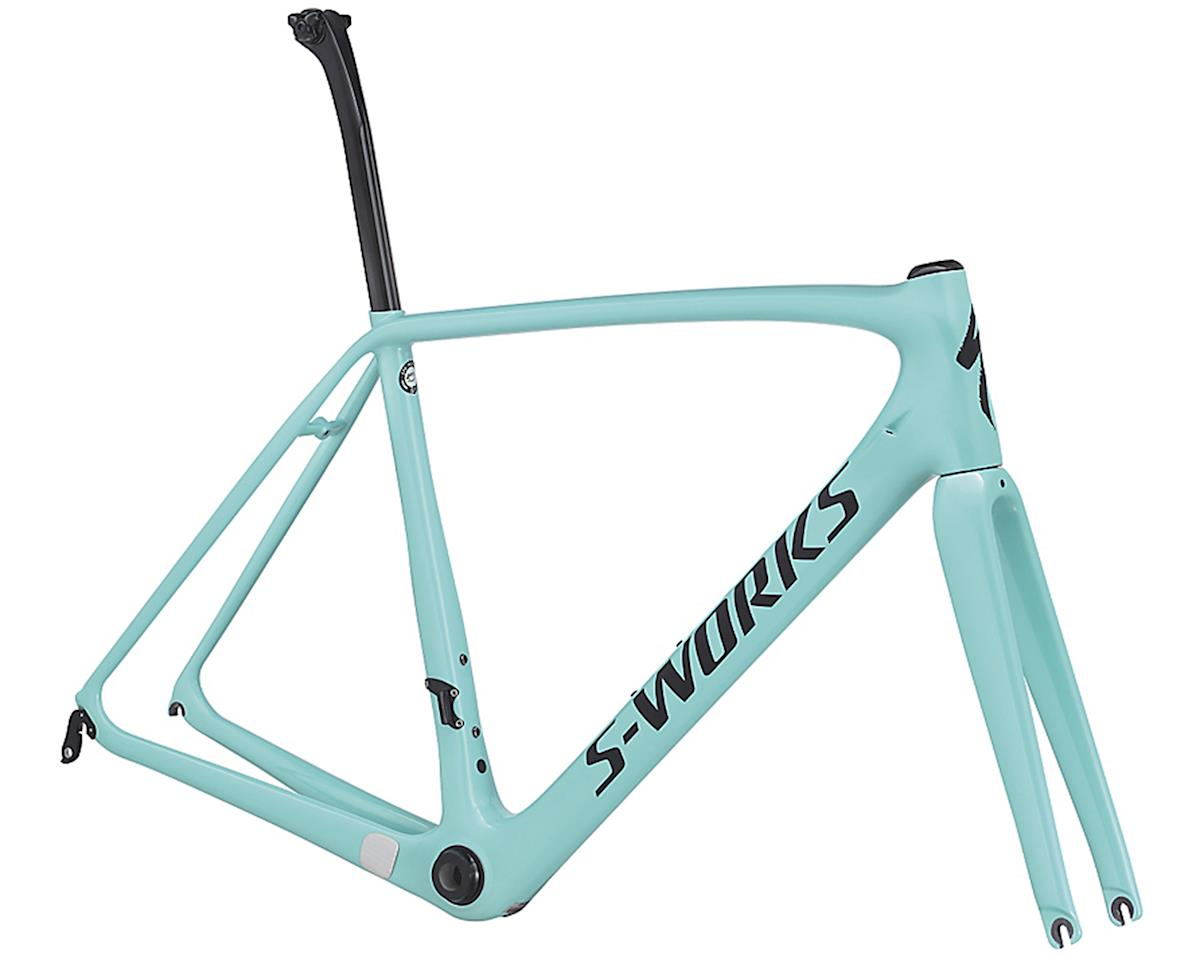 Specialized 2017 S-Works Tarmac Frameset (Light Turquoise/Black)