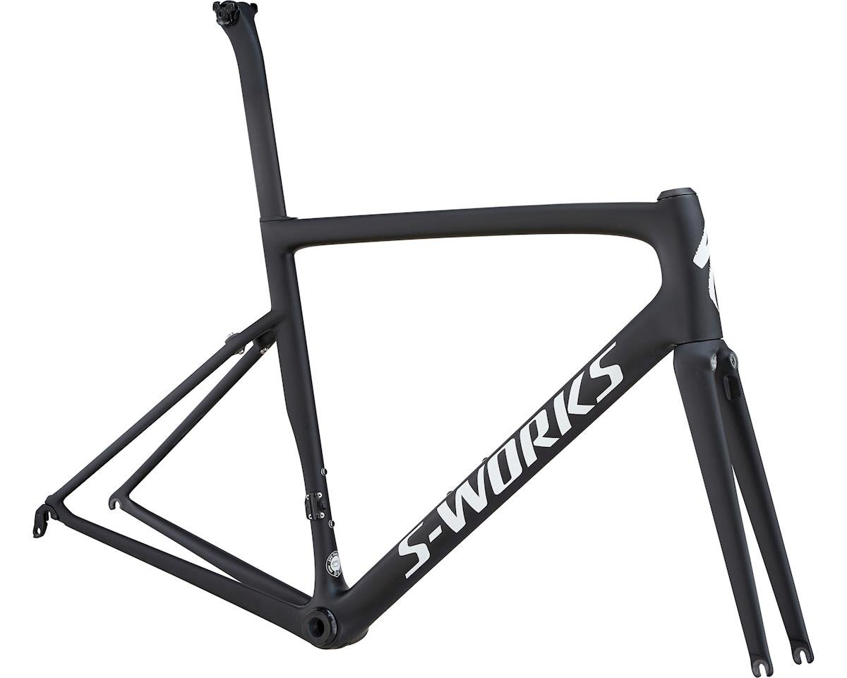Specialized S-Works Tarmac Frameset (MonoBlack/White Reflective/Clean) (61)