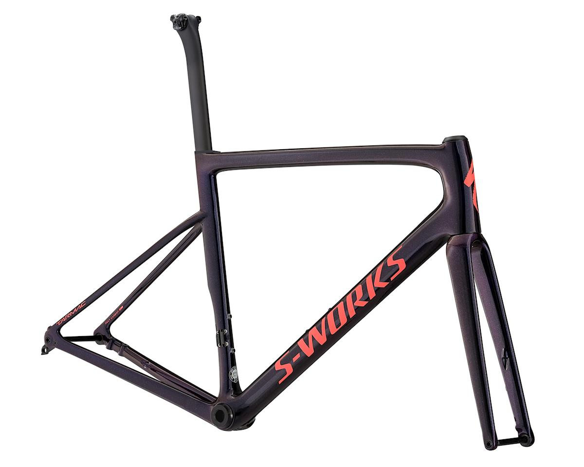 2018 S-Works Tarmac Disc Frameset (Chameleon Flake/Acid Red/Clean)