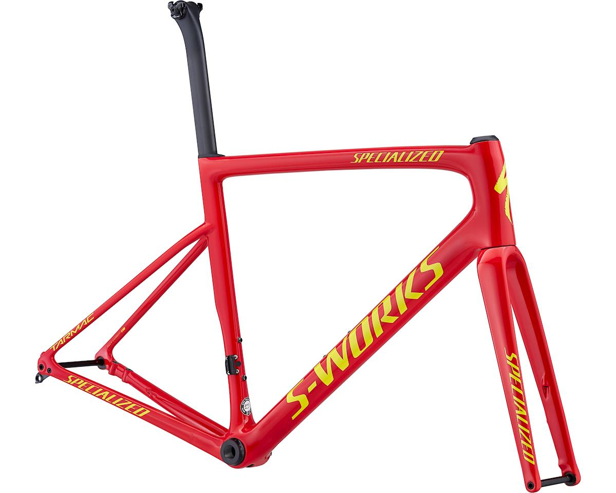 Specialized 2019 S-Works Tarmac Disc Frameset (Gloss Flo Red/Bright Yellow)