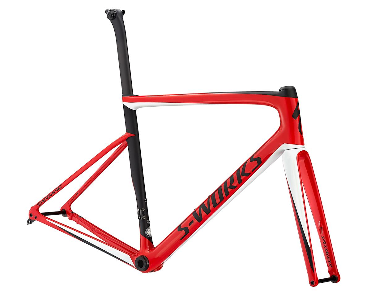 Specialized 2018 S-Works Tarmac Disc Frameset (Flo Red/White Silver/Satin Black)