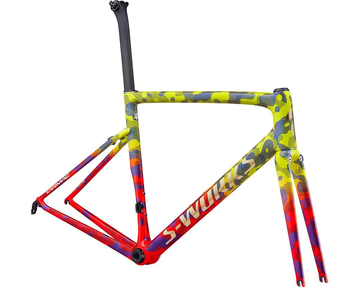 Specialized 2020 S-Works Tarmac Frameset (Gloss Team Yellow/Rocket Red/Tarmac Black/Chameleon/Camo)