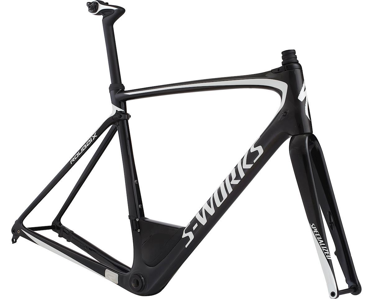 Specialized 2018 S-Works Roubaix Frameset (CARBON / METALLIC WHITE SILVER)