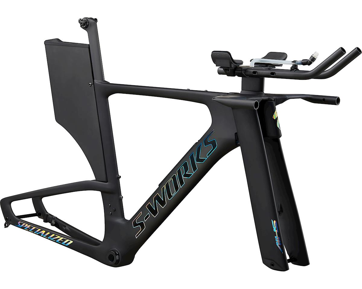 Specialized 2020 S-Works Shiv Disc Module (Satin Carbon/Gloss Holographic Foil)
