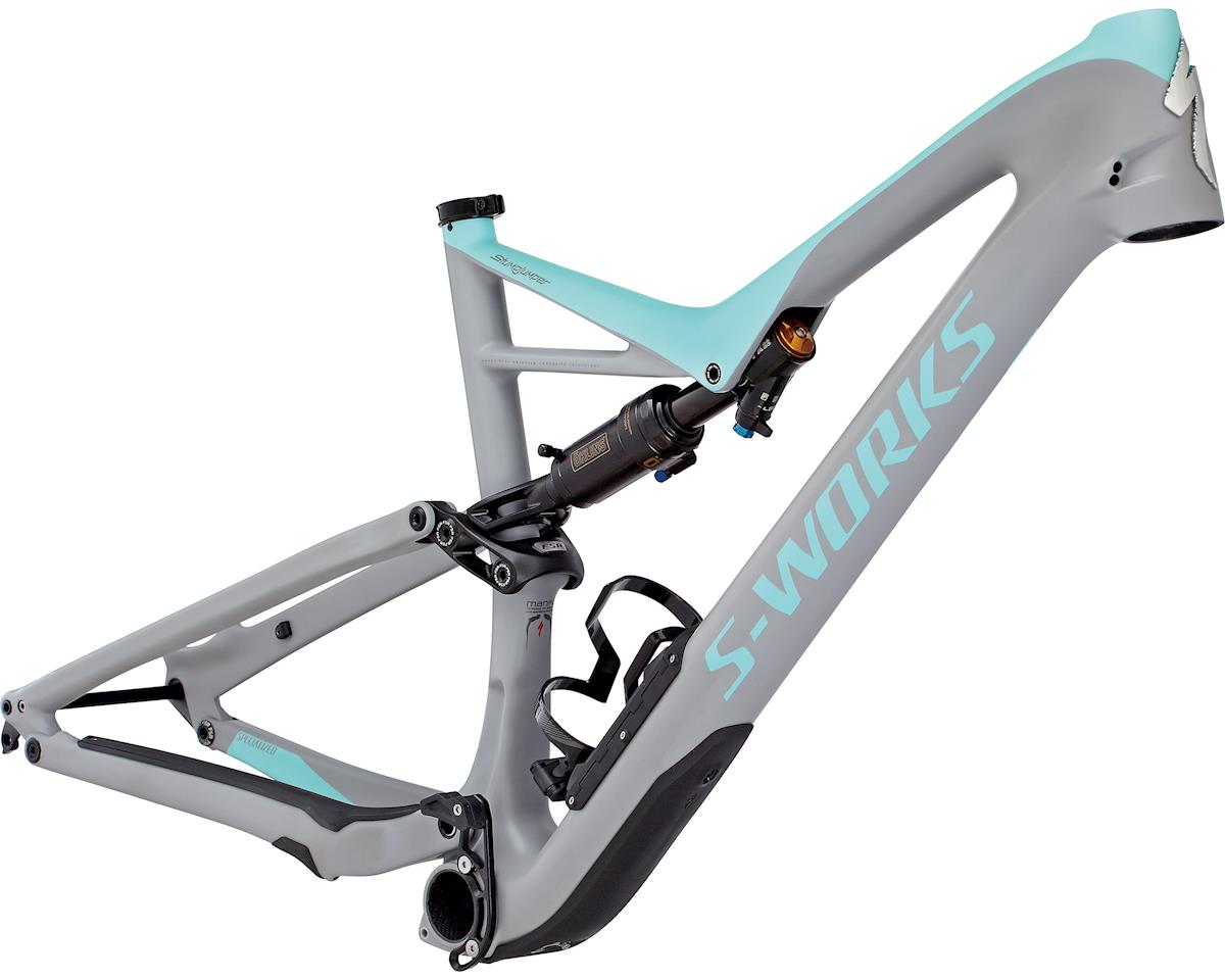 Specialized 2017 S-Works Stumpjumper FSR 29 Frame (COOL GREY/LIGHT TURQUOISE) (M)