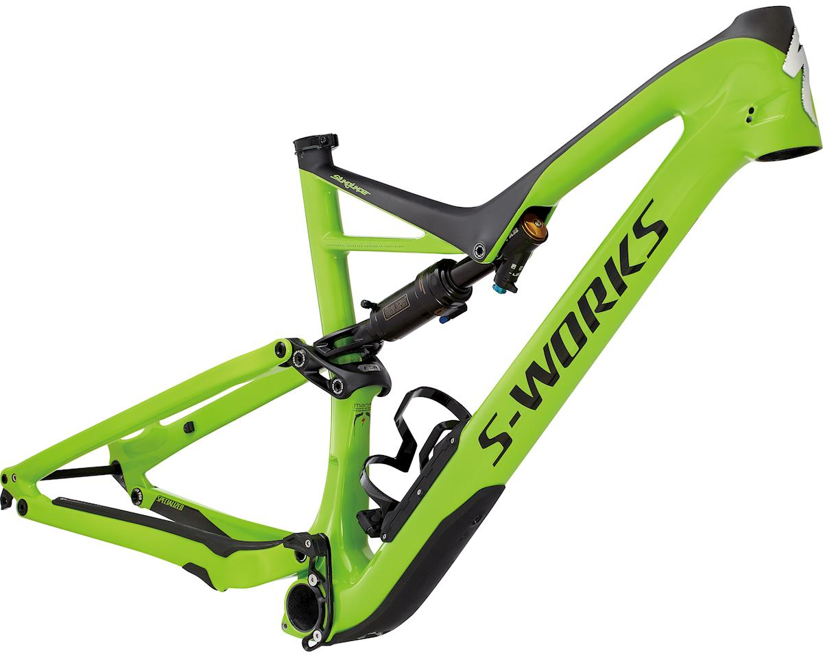Specialized 2017 S-Works Stumpjumper FSR 29 Frame (MONSTER GREEN/CARBON) (S)