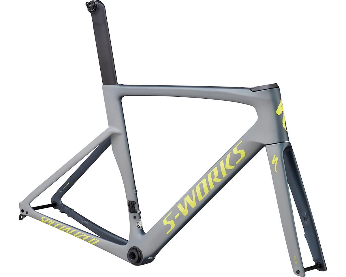 Specialized 2019 S-Works Venge Frameset (Satin Battleship/Cool Grey/Team Yellow)