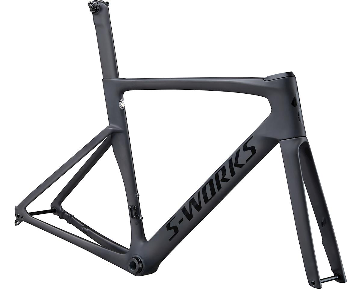 Specialized 2020 S-Works Venge Frameset (SATIN CARBON/TARMAC BLACK) (58)