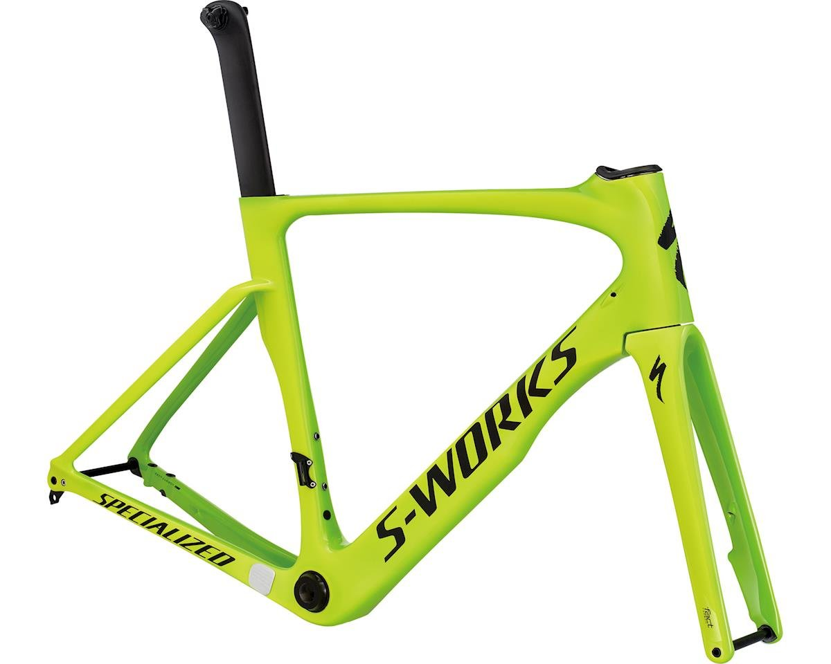 ed7ede9399a Specialized 2017 S-Works Venge ViAS Disc Frameset (Gloss Monster Green /  Team Yellow / Satin Black) (46)
