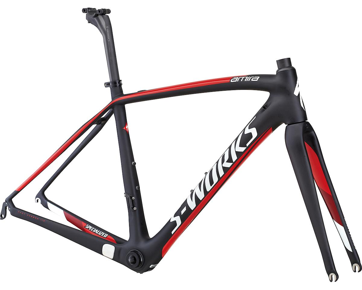 Specialized 2014 S-Works Amira SL4 Frameset (Satin Black/Gloss Red) (56)