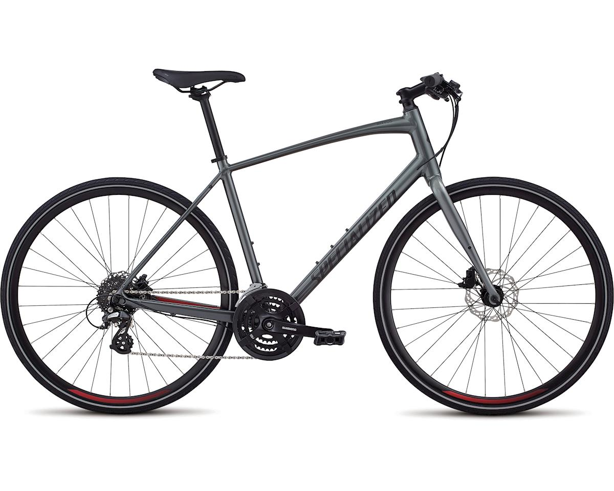 Specialized 2018 Men's Sirrus Alloy Disc (Charcoal/Candy Red/Black Reflective)