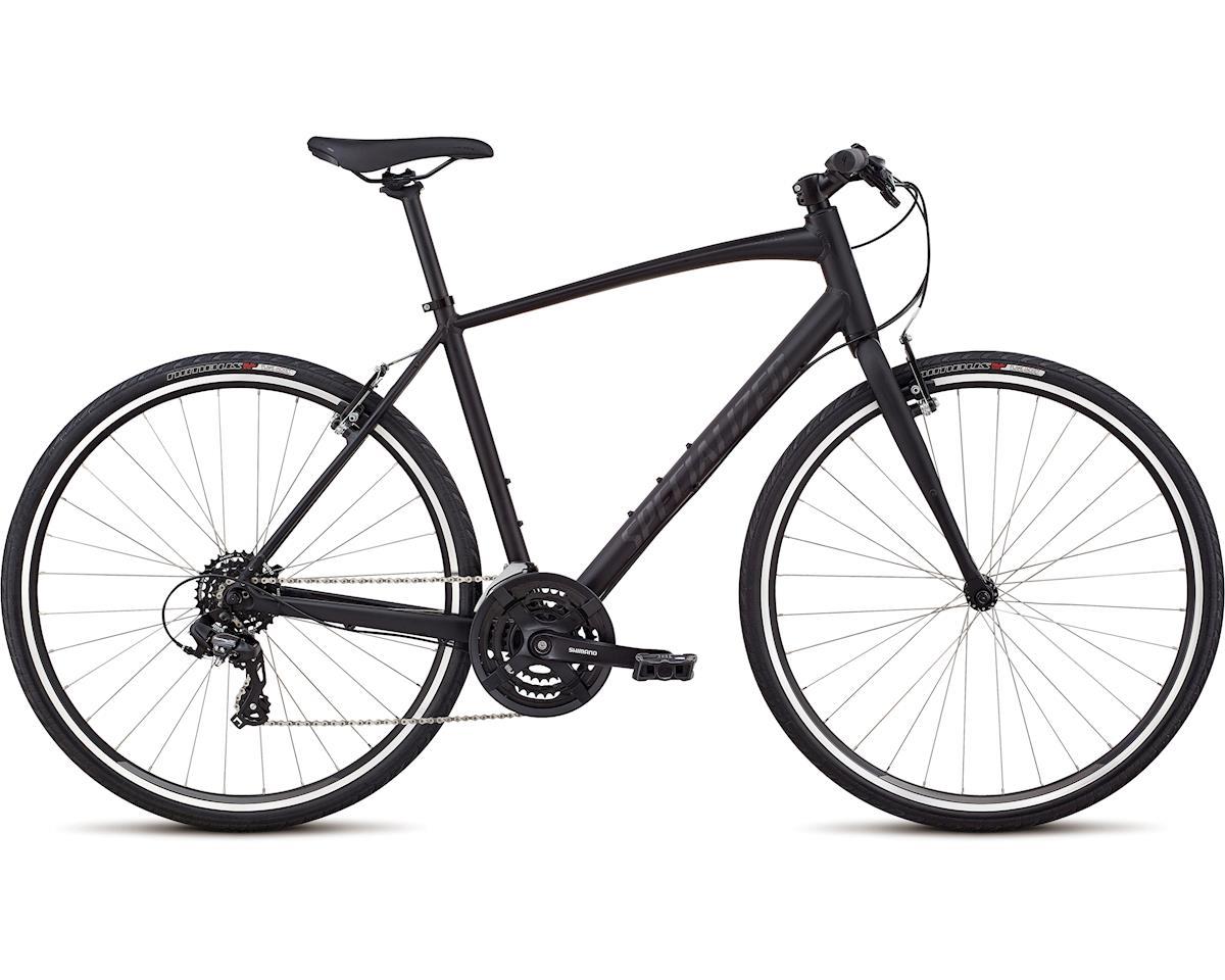 Specialized 2019 Men's Sirrus Alloy-V-Brake (Black/Gloss Black/Black Reflective)