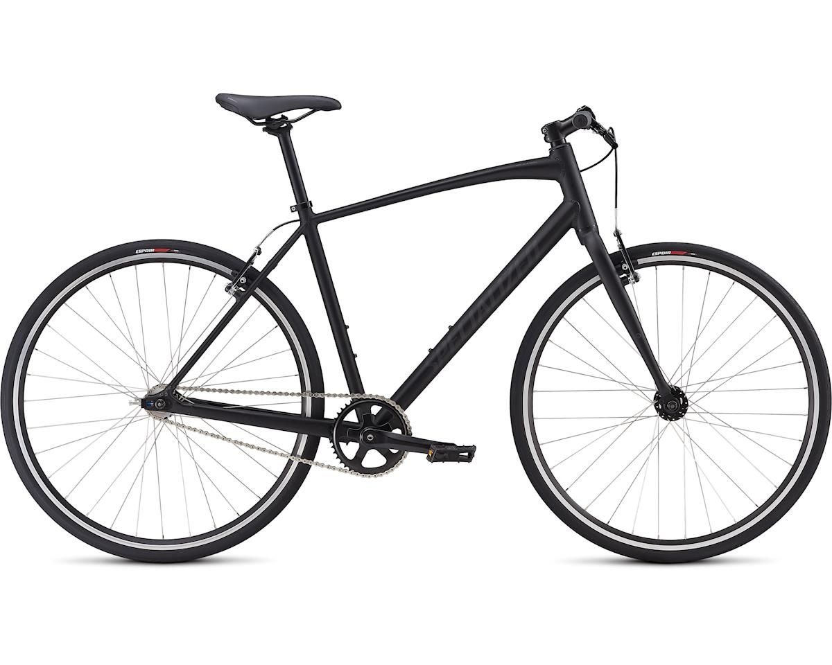Specialized 2019 Men's SirrusSingle Speed (Satin Gloss Black/Black Reflective)