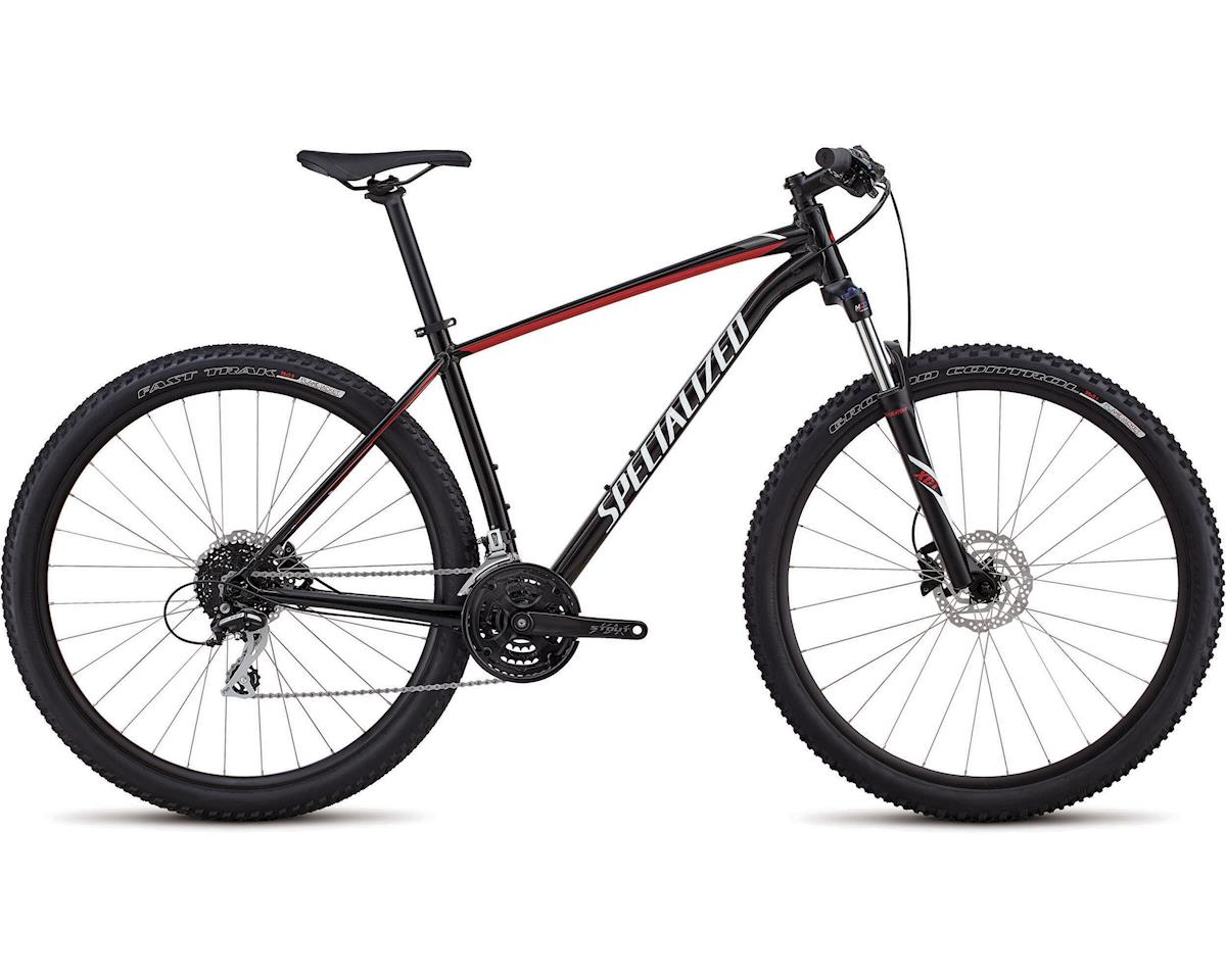 Specialized 2018 Rockhopper Sport (GLOSS TARMAC BLACK/FLO RED/WHITE) (L)