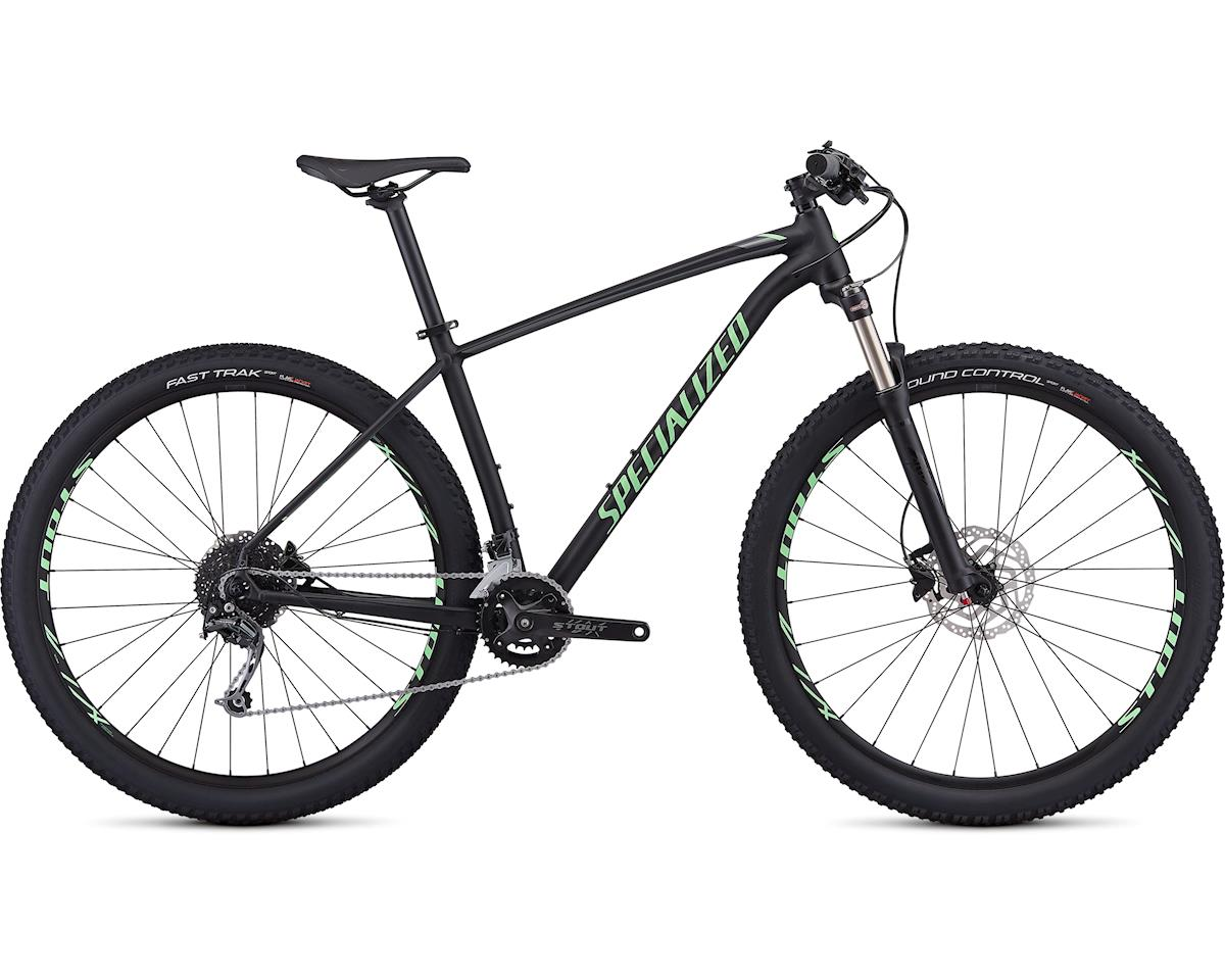 Specialized 2019 Men's Rockhopper Expert (Gloss Black/Acid Kiwi/Charcoal)
