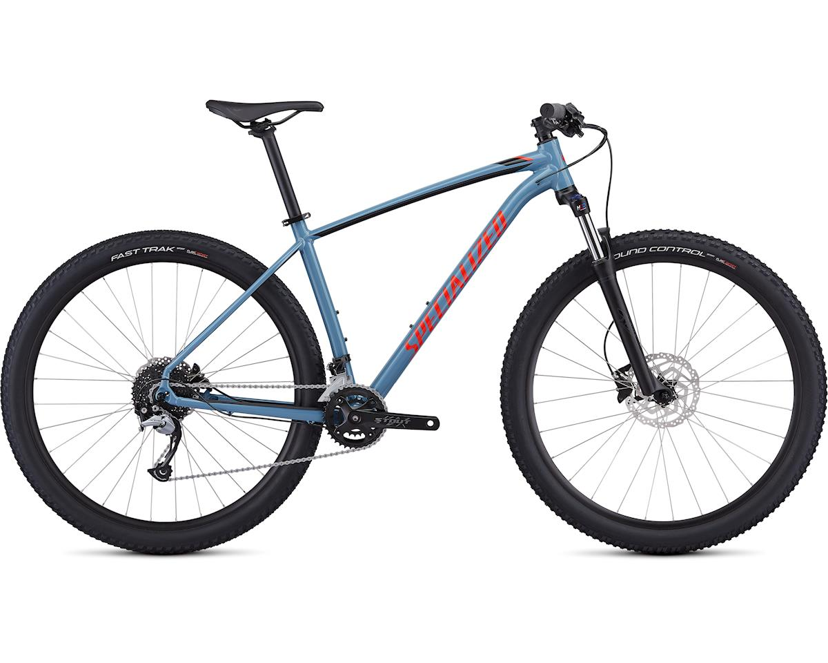 Specialized 2019 Men's Rockhopper Comp (Gloss Storm Grey/Rocket Red/Tarmac Black)
