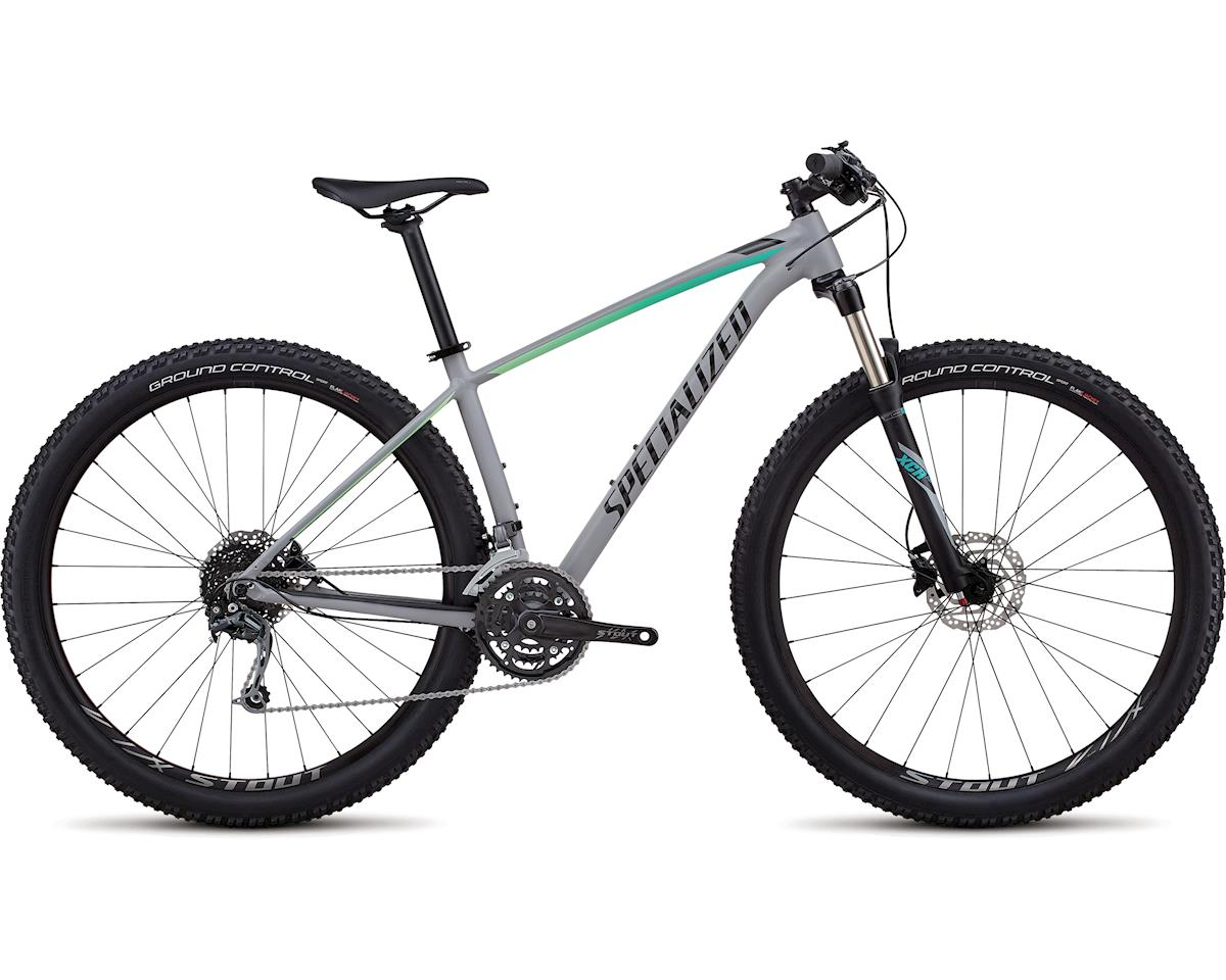 Specialized 2018 Women's Rockhopper Expert (SATIN GLOSS COOL GREY / CALI FADE / TARMAC BLACK)