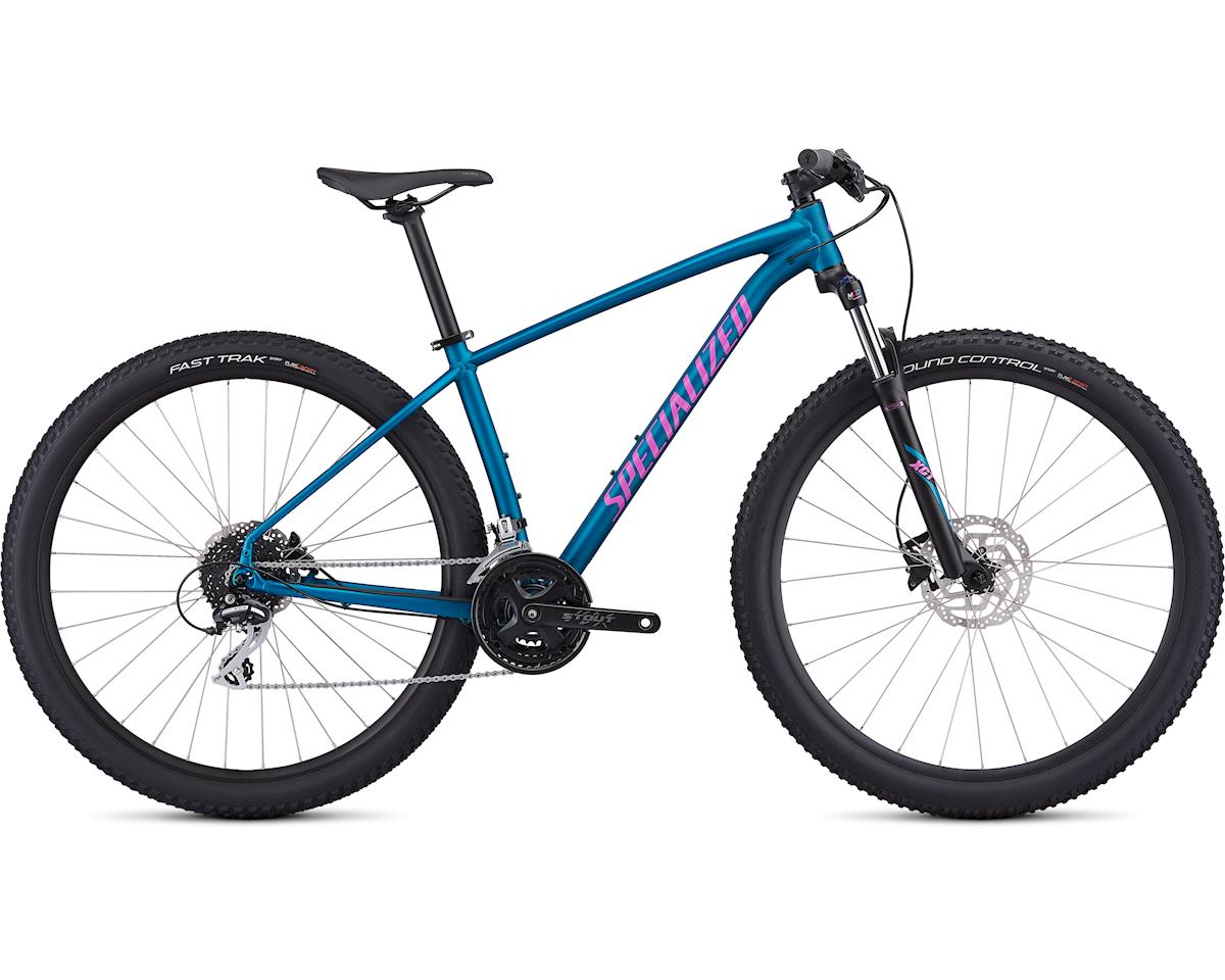 Specialized 2019 Women's Rockhopper Sport (Satin Gloss Marine Blue/Acid Fushia/Clean)