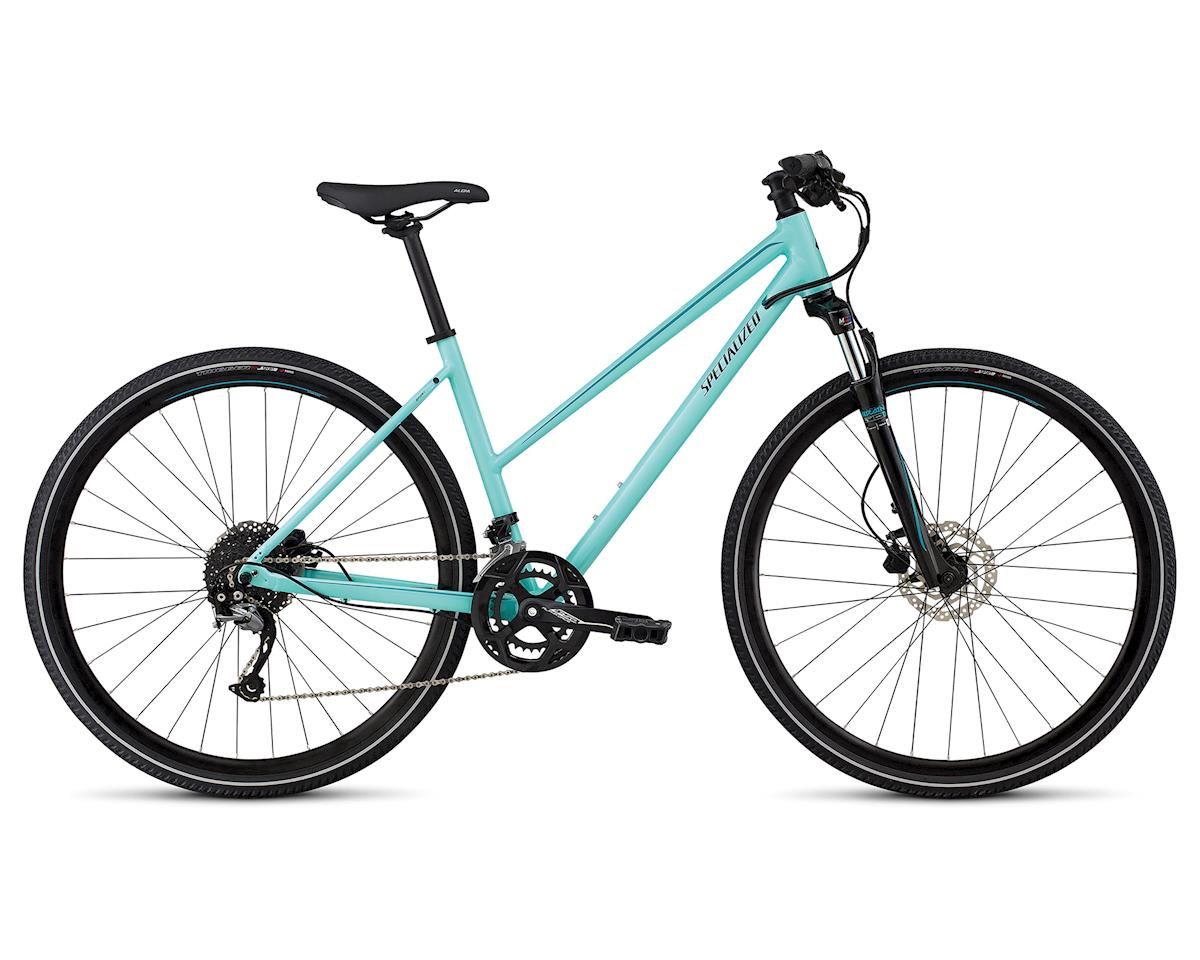 Specialized 2018 Ariel Sport Step-Through (GLOSS LT TURQUOISE/TURQUOISE/TARMAC BLK)