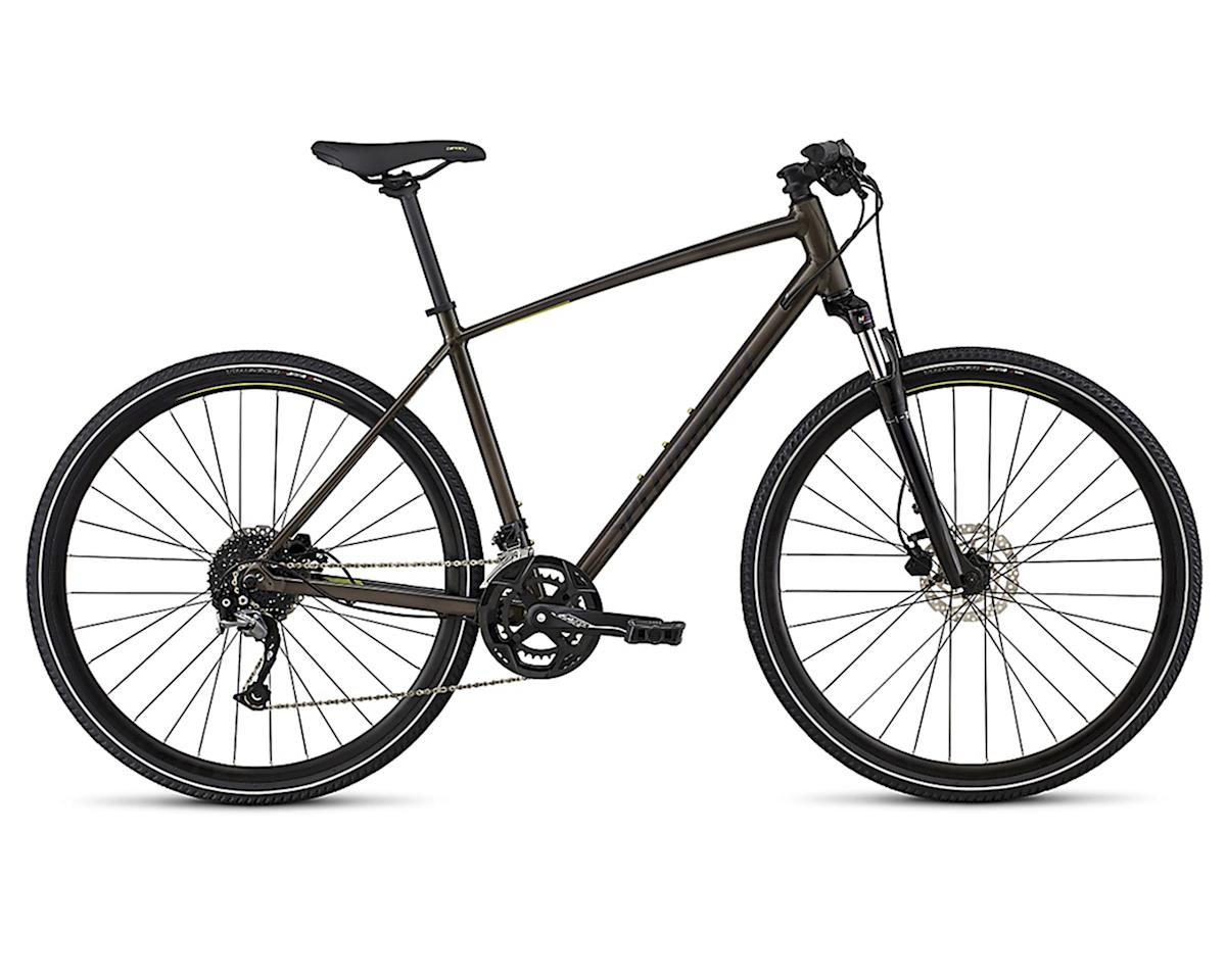Specialized 2018 CrossTrail Sport (RAINBOW FLAKE BLACK TINT/NEARLY BLACK/HYPER GREEN REFLECTIVE)