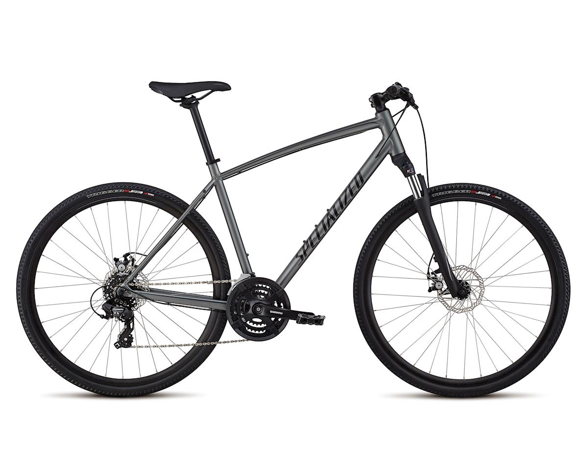 Specialized 2018 CrossTrail -Mechanical Disc (Charcoal/Gloss Black/Black Reflective)