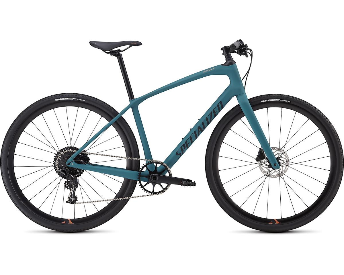 Specialized 2019 Women's Sirrus X Comp Carbon (Dusty Turquoise/Copper/Black)