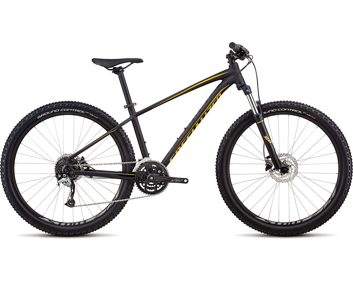 Specialized 2018 Men's Pitch Comp 27.5 (SATIN GLOSS BLACK / BLACK / GOLD)