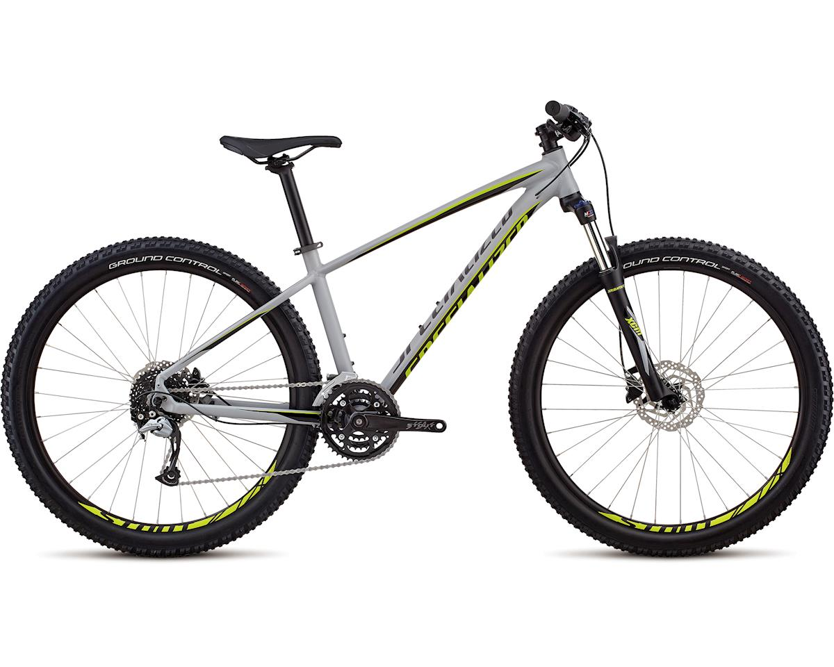 Specialized 2018 Men's Pitch Comp 27.5 (SATIN GLOSS COOL GREY / BLACK / HYPER)