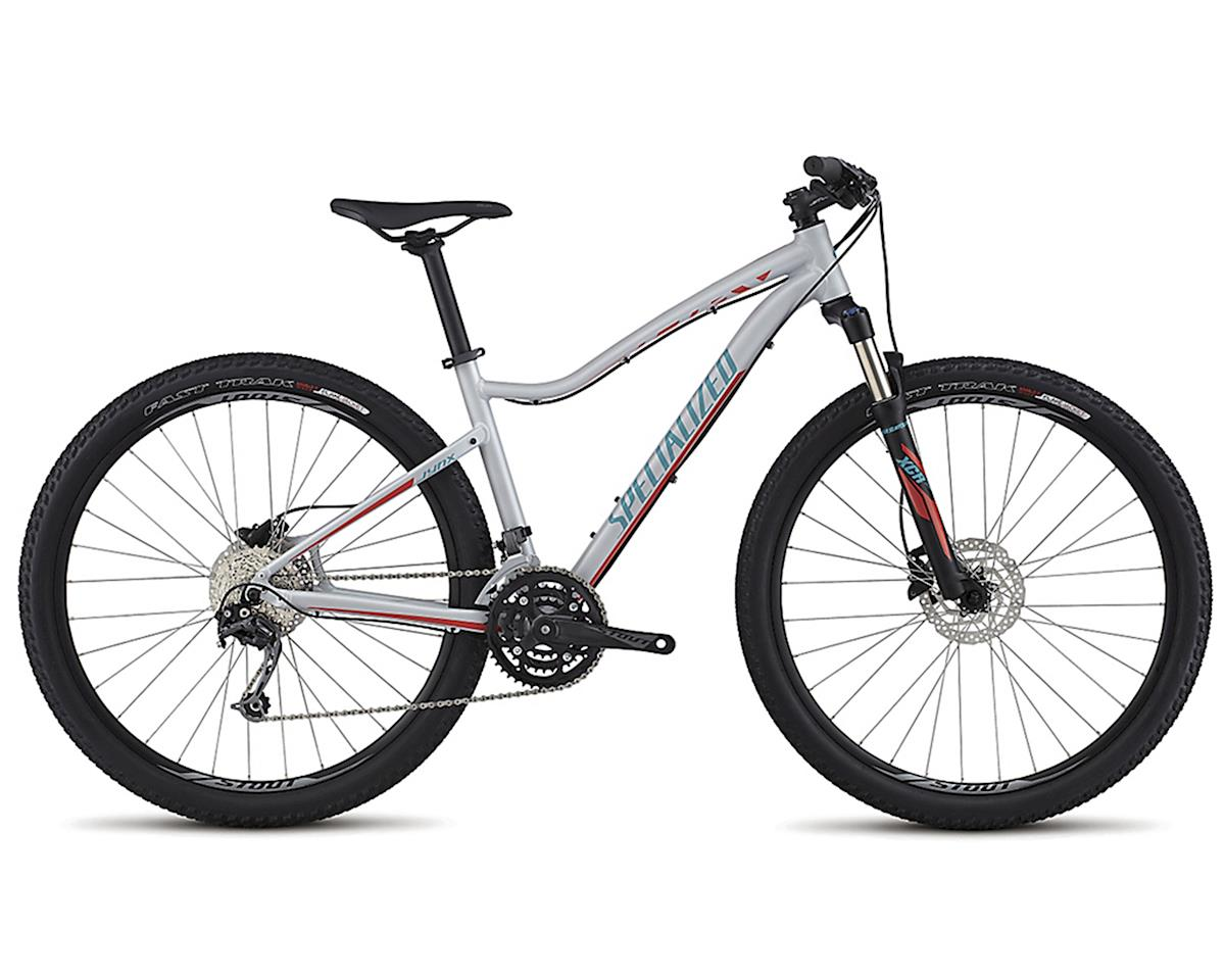 Specialized 2017 Jynx Comp 650b (SATIN FILTHY WHITE/NORDIC RED/TURQUOISE)