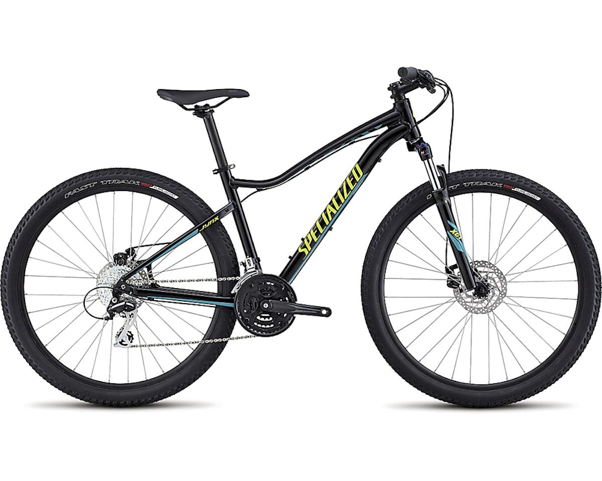 Specialized 2017 Jynx 650b (GLOSS TARMAC BLACK/HYPER GREEN/TURQUOISE) (L)