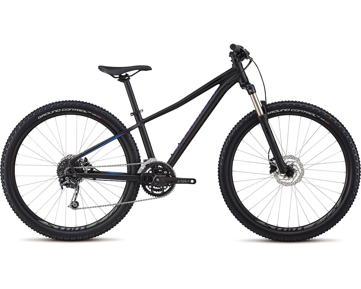 Specialized 2018 Women's Pitch Expert 27.5 (Gloss Satin Tarmac Black / Chameleon / Black)