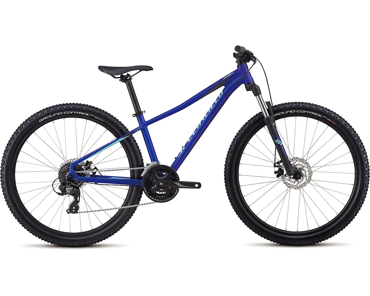 Specialized 2018 Women's Pitch 27.5 (Satin / Gloss / Acid Blue / Light Turq/Reflect)