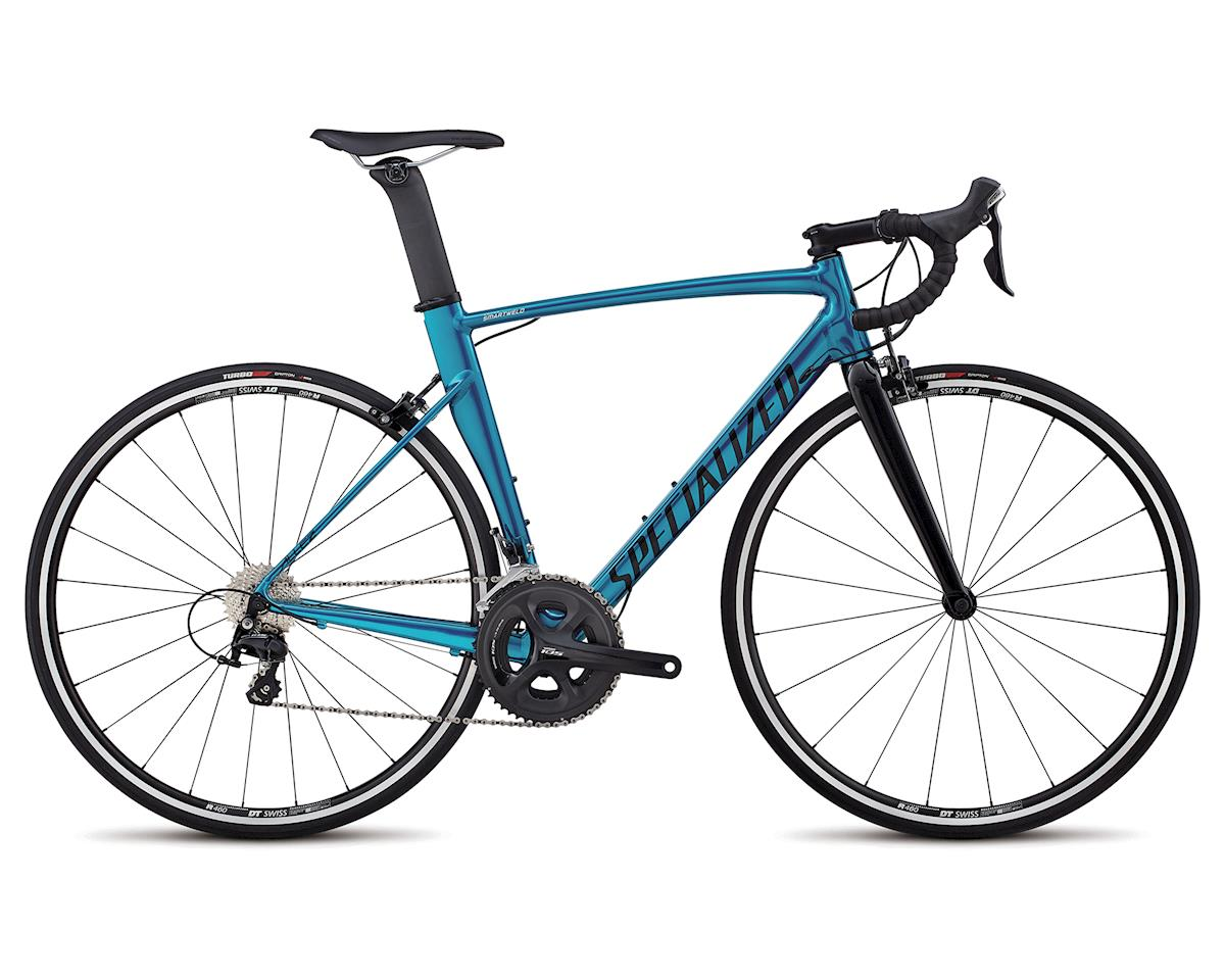 Specialized 2018 Allez Sprint Comp (Gloss Teal Tint Over Polished/Tarmac Blk/Clean)
